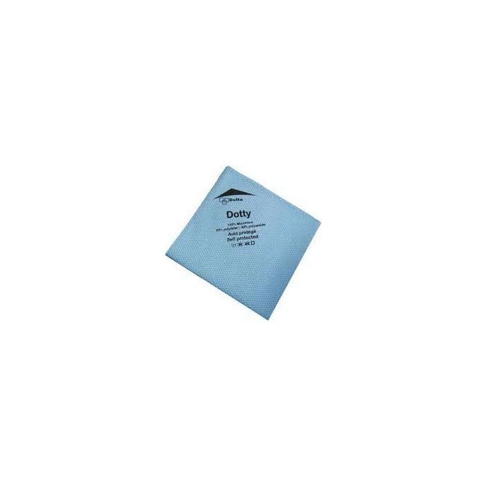 Accueil : Chiffonnette lavette microfibre Dotty bleue /5 à 14,50€