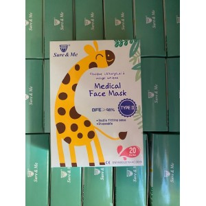 Indispensables COVID-19 : Masques chirurgicaux Enfants (Type II) - Boite de 20 à 1,75€ product_reduction_percent